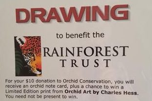 Earth Day 2017 Benefit for Rainforest Trust