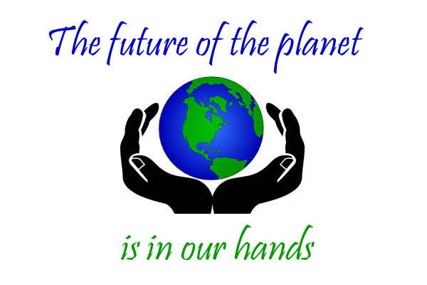 The future is inn our hands