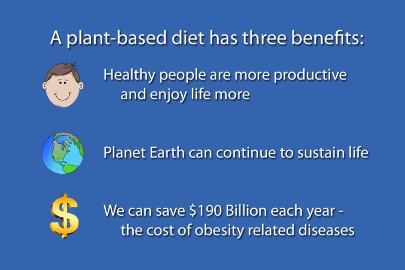 plant-based diet benefits planet and our own health