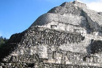 The Great pyramid at Calakmul Photo by Leon Ibarra Gonzalez