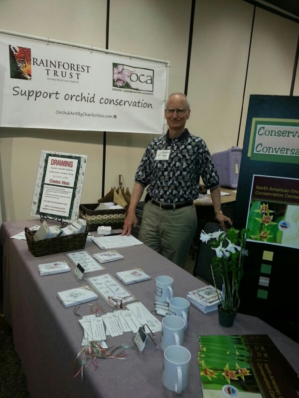 Ready For The Fort Worth Orchid Show Where My Focus Will Be Conservation Orchid Art By Charles